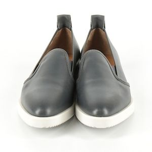 Everlane wedge loafers